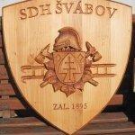 Znak Dobrovolných hasičů Švábov